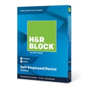 H&R Block 2018 Premium Tax Software, 1 User,  Win and Mac Download/Disc (1536600-18)