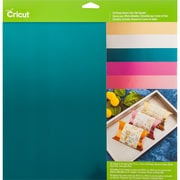 "Cricut Fairytale Aluminum Foil Tape, 12"" x 12"", Multi Color Sampler, 10/Pkg (2003668)"