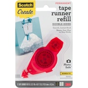 """3M Scotch Adhesive Glue Tape Dot Roller Refill for Use In 55, .31"""" x 49' (055-R)"""