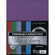 """Darice Cardstock Paper, 65 lbs, 8.5"""" x 11"""", Lap Of Luxury Core'dinations Assortment Value Pack, 50/Pack (G x 220009)"""