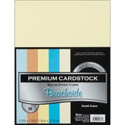 "Darice Cardstock Paper, 65 lbs, 8.5"" x 11"", Beachside Core'dinations Assortment Value Pack, 50/Pack (G x 220001)"