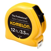 Komelon® Professional Series Power Tapes, 12ft Blade