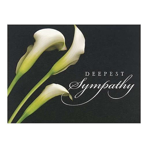 httpswwwstaples 3pcoms7is - Deepest Sympathy Card