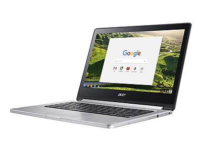 "Acer R 13 NX.GL4AA.008 13.3"" Chromebook Laptop, MediaTek, Refurbished"