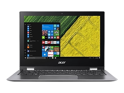 "Acer Spin 1 NX.GRMAA.002 11.6"" Notebook Laptop, Intel, Refurbished"