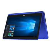 "Dell Inspiron i3168-0028BLU 11.6"" Notebook Laptop, Intel"