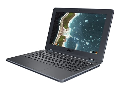 "ASUS Flip C213SA YS02 11.6"" Chromebook Laptop, Intel"
