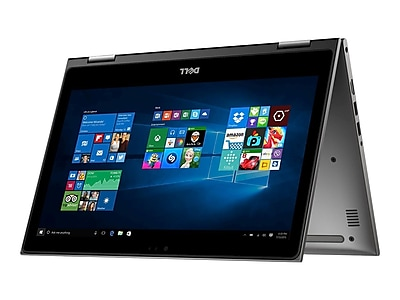 """Dell Inspiron I53687643GRY 13.3"""" Notebook Laptop, Intel i5"""