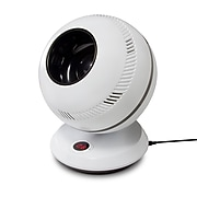 """Greentech Environmental pureFlow QT7 12.75""""H 12-Speed Oscillating Fan with Remote Control, White (PFGT7V01US)"""