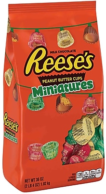 Hershey's Reese's Holiday Peanut Butter Cups Miniatures 36 oz. (HEC45029)