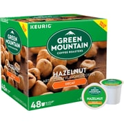 Green Mountain® Hazelnut Decaf Coffee, Keurig® K-Cup® Pods, Light Roast, Decaffeinated, 48/Box (373316)