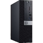 Dell OptiPlex Desktop Computer, Intel Core i7-8700, 256GB SSD, 8GB RAM, Windows 10 Pro, Intel UHD 630 (OP5060SFFD5HVN)