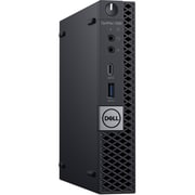 Dell OptiPlex 7060 W75N1 Desktop Computer, Intel Core i5-8500T, 500GB HDD, 4GB RAM, Windows 10 Pro, Intel UHD 630