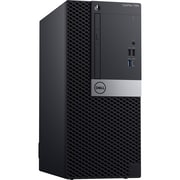Dell OptiPlex 7060 MC0MN Desktop Computer, Intel Core i5-8500, 500GB HDD, 8GB RAM, Windows 10 Pro, Intel UHD 630