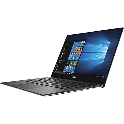 "Dell XPS 13-9370 FJ7FF 13.3"" Notebook, Intel Core i7-8550U, 256GB SSD, 8GB RAM, Windows 10 Pro, Intel UHD Graphics 620"