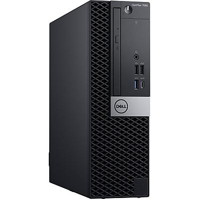 Dell OptiPlex 7060 DVC1J Desktop Computer, Intel Core i5-8500, 128GB SSD, 8GB RAM, Windows 10 Pro, Intel UHD 630