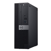 Dell OptiPlex 7060 T7G0K Desktop Computer, Intel Core i7-8700, 256GB SSD, 16GB RAM, Windows 10 Pro, Intel UHD 630