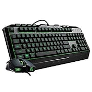 Cooler Master Devastator 3 Ergonomic Gaming Keyboard and Mouse Combo, Black (SGB-3000-KKMF1)