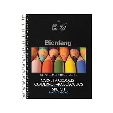 """Bienfang Blank Sketch Pad, 8.5"""", 100 Sheets (R237117)"""