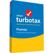 TurboTax Premier Fed + Efile + State 2018 for 1 User, Windows, Disk (606104)