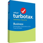 TurboTax Business Fed + Efile 2018 for 1 User, Windows, Disk (606049)