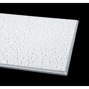 Armstrong Fissured Angled Tegular 2'x2' White Ceiling Tile, 16 Count (705A)