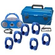 Hamilton Buhl (LCFW-AA1) 6 Person Wireless Flex-PhonesAF Listening Center with AudioAce Boombox