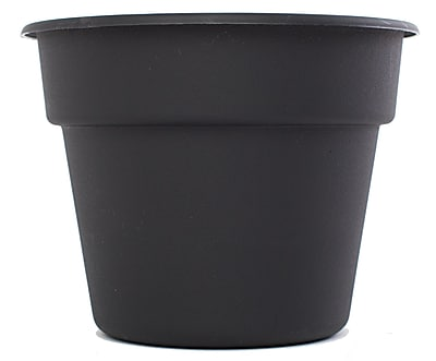 "Bloem 16"" Dura Cotta Planter, Black"
