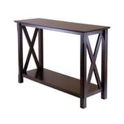 """Winsome Xola 45""""W x 17.09""""D Console Table, Cappuccino (40445)"""