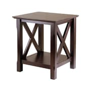 "Winsome Xola 20""W x 19.13""D End Table, Cappuccino (40420)"