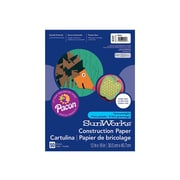 "SunWorks 12"" x 18"" Construction Paper, Brown, 50 Sheets/Pack (6707)"