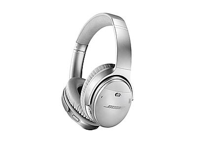 Bose QuietComfort 35 II Wireless Headphones, Silver (789564-0020)