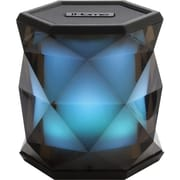 iHome® IBT68BC Color Changing Rechargeable Bluetooth Speaker, Translucent Gray (IBT68BC)