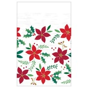 """Amscan Christmas Wishes Plastic Table Covers, 54"""" x 102"""". 3 Pack (572189)"""
