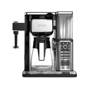Ninja Coffee Bar Glass Carafe System W/ Frother, Refurbished (CF090)