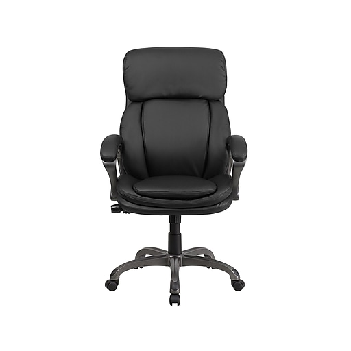 Flash Furniture Faux Leather Executive Chair, Black (BT90272H)