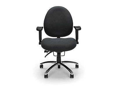 OFM Fabric Task Chair, Charcoal (247-203)