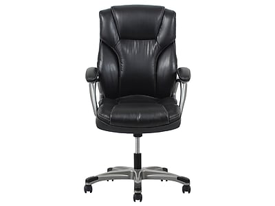 OFM Essentials Leather Executive Chair, Black (089191013969)