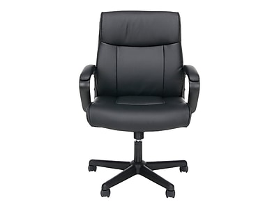 OFM Essentials Leather Executive Chair, Black (089191013846)