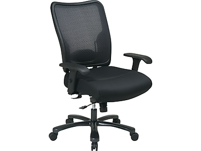 Office Star Office Star Space Seating Mesh Task Chair, Black (75-37A773)
