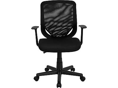 Flash Furniture Mesh Task Chair, Black (LFW95ABK)