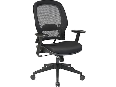 Fabric office chairs with arms Executive Swivel Office Star Space Fabric Computer And Desk Office Chair Adjustable Arms Black 5540 Staples Staples Office Star Space Fabric Computer And Desk Office Chair Adjustable