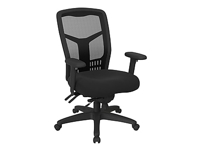 Office Star Proline II Mesh Back Fabric Computer and Desk Chair, Black (92892-231)