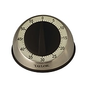 Taylor Pro Stainless Steel Timer, Silver (5830)