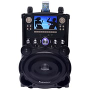 "Karaoke Usa Gp978 Professional Dvd/Cd+G/Mp3+G Bluetooth Karaoke System With 7"" Tft Color Screen & Tote Wheels"