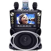 Karaoke USA Karaoke Machine Color Screen with Record and Bluetooth (GF844)