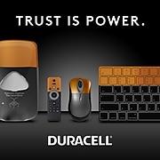 Duracell Coppertop 9V Alkaline Batteries, 12/Pack (MN1604BKD)