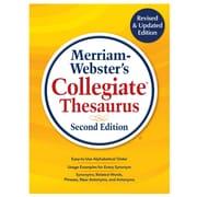 Merriam-Webster's Collegiate Thesaurus, Second Edtion (9780877793700)