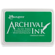 Ranger Archival Ink Pad, Emerald Green (AIP-30447)