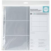 "We R Memory Keepers 4""x 6"" Pockets Ring Photo Sleeves 12"" x 12"", Pack of 10 (WR660152)"